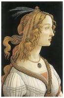 Young Woman in Mythological Guise by Botticelli