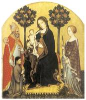 Virgin and Child Enthroned