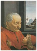 Portrait of an Old Man and a Young Boy