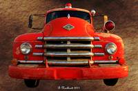 1955 Diamond T Grille - The Cadillac Of Trucks