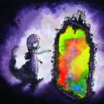 """Girl Rainbow Mirror"" by francisfung"
