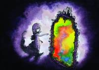 Girl Rainbow Mirror