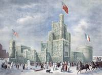 Ice Castle, Montreal Winter Carnival, 1887