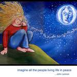 """Imagine Peace"" by reniebritenbucher"
