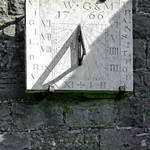 """Vertical Sundial on Fenny Bentley Church (29599-A)"" by rodjohnson"