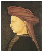 Profile of a Young Man by Tommaso Masaccio