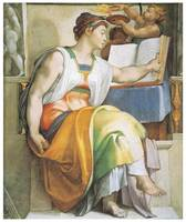 The Erythraean Sibyl by Michelangelo Buoanarroti