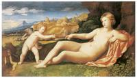 Venus and Cupid by Palma the Elder