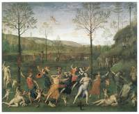 The Combat of Love and Chastity by Pietro Perugino