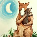 """Mother and Baby Bear Lullaby"" by ElizaArt"