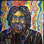 """Jerry Garcia"" by DavidNoahGiles"