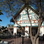 """Hemet Museum - Old Santa Fe Depot"" by GlennMcCarthyArtPhoto"