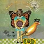 """Little Miss Sunshine Altered Art Collage"" by Gidget26"