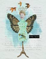 Pretend Altered Art Collage