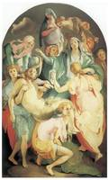 Entombment by Jacopo Da Pontormo