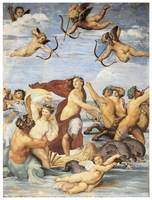 The Triumph of Galatea by Raffaello Sanzio