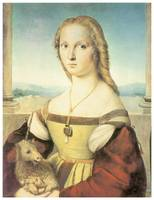 Lady with a Unicorn by Raffaello Sanzio