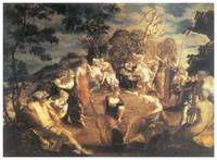 The Concert of Muses by Tintoretto