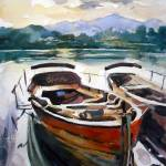 """Derwentwater, Lake District"" by anthonybarrow"