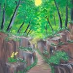 """""""Stone ravine"""" by elajanus"""