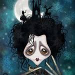 """Edward, Sweet Edward"" by sandygrafik_arts"