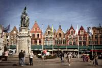 The Markt in Bruges, Belgium