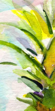 Tropicana #1 from Set Watercolor by Ginette