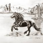 """Black Wind"" by Art-Equus"
