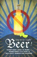 say no to light beer