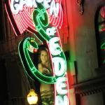 """San Francisco Neon Signs::Garden of Eden"" by shariwarren"