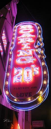San Francisco Neon Signs::Roaring 20's