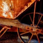 """""""The Red Wheelbarrow"""" by SilverStreakGallery"""