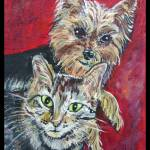 """Buddy & Maggie Mae"" by paintingsbygretzky"