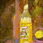 """Limoncello Still Life in Oil by Ginette"" by GinetteCallaway"