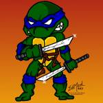 """Leonardo Teenage Mutant Ninja Turtles"" by EdMedArt"