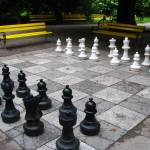 """Chess in the Park"" by fantasticvoyage"