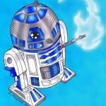 """R2D2 Star Wars"" by EdMedArt"