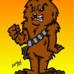 """Chewbacca What a Wookie"" by EdMedArt"