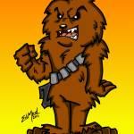 """Chewbacca What a Wookie"" by EdMedArt"