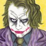 """Heath Ledger The Joker"" by EdMedArt"