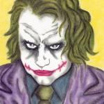 """""""Heath Ledger The Joker"""" by EdMedArt"""