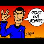 """Peace Out My Vulcans"" by EdMedArt"