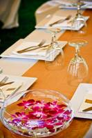 Wedding table setting 24642