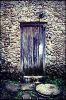 Old Door in Parati - Brazil