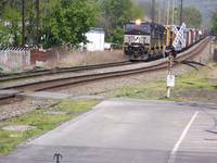 Norfolk Southern Train At Macungie Penna.