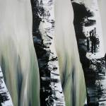 """Birch Tree 11"" by FradetFineArt"