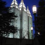 """Salt Lake Mormon Temple at Twilight"" by ultimateplaces"