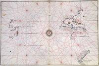 Nautical Chart of the Pacific Ocean and Central Am