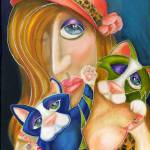 """The Cat Lady"" by AlmaLee"