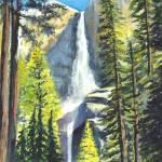 """""""Yosemite Falls"""" by loracnabru"""